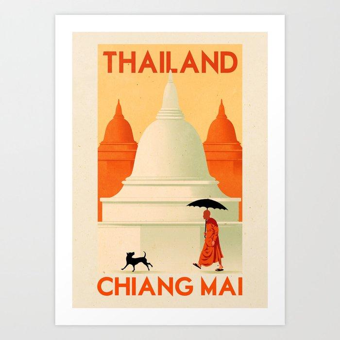 Thailand - Chiang Mai Kunstdrucke
