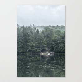 Lakeside Morning Canvas Print
