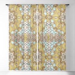 Moroccan Sunshine Sheer Curtain