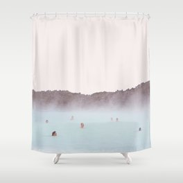 Spa Day Self Care Shower Curtain