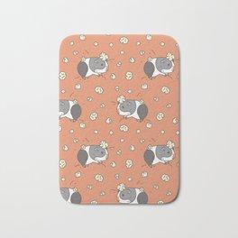 Guinea pig Pattern, Popcorning Bath Mat