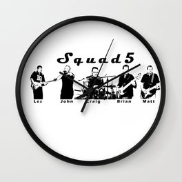 Boys in the Band Wall Clock