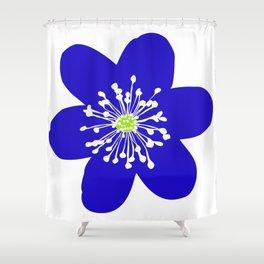 Flower Anemone Hepatica Shower Curtain