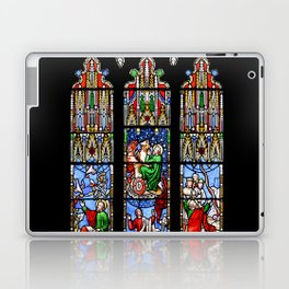 Cathedral Stained Glass 2 Laptop & iPad Skin