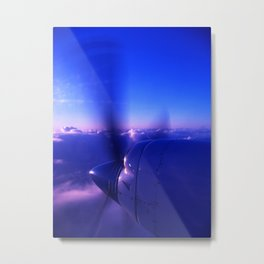 Go west Metal Print