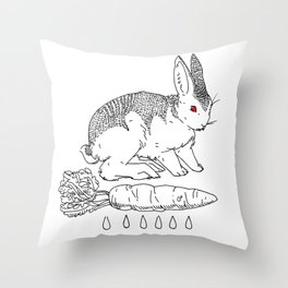 bunnicula Throw Pillow