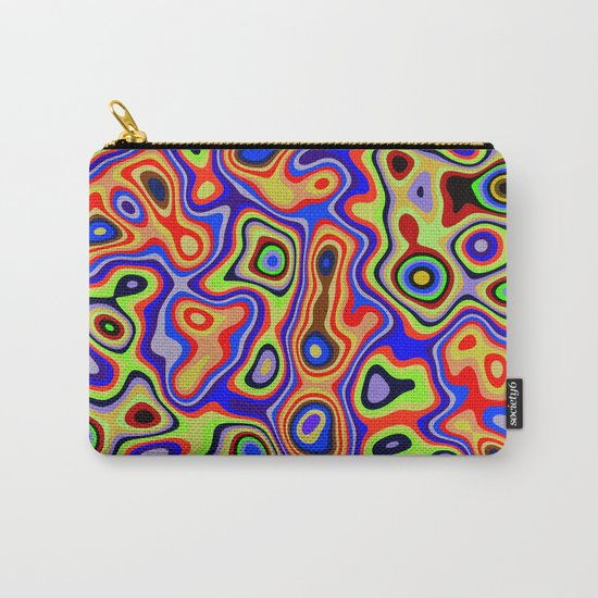 Cool colorful patterns abstract Carry-All Pouch
