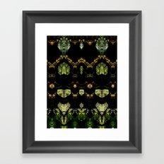 Tree Geometry Framed Art Print