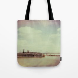 Mississippi River Tote Bag