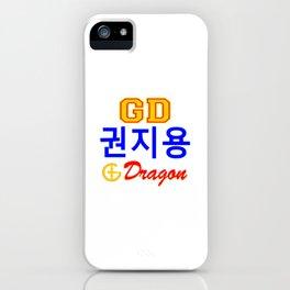 BigBang-GD-GDragon Kwon JiYong iPhone Case
