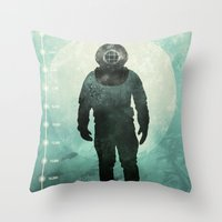 under the sea Throw Pillows featuring Under The Sea by Chase Kunz