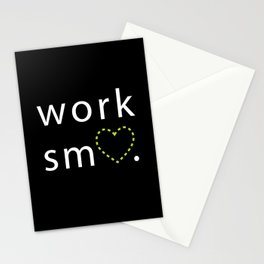 Work Smart Stationery Cards