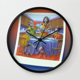 Say Cheese and Die Again! Wall Clock