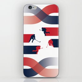 Capitals Breakaway iPhone Skin