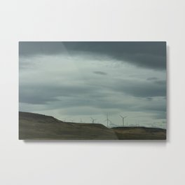 Just hangin in the wind. Metal Print