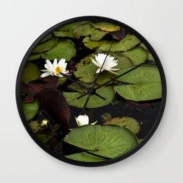 Lilly Pad Wall Clock