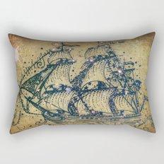 The Great Sky Ship Rectangular Pillow