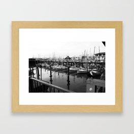 Fishermans Wharf Framed Art Print
