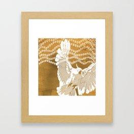 Cockatoo Framed Art Print
