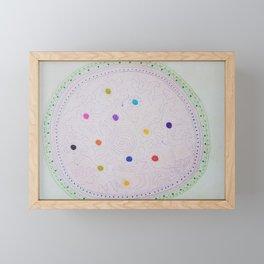 Création indigène - Australian creation Framed Mini Art Print