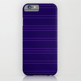 Simple Lines Pattern dpu iPhone Case