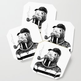 Walrus with a Pipe Coaster