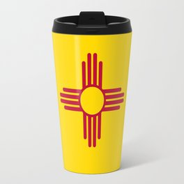 Flag of New Mexico - Authentic High Quality Image Travel Mug
