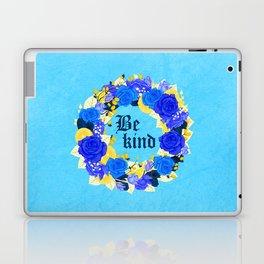 Flower wreath | Be kind Laptop & iPad Skin