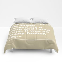 Cotton –Jesse Livermore Comforters