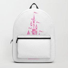 Pink Fairytale Castle Backpack