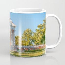 Charlottesville Virginia Campus Lawn Print Coffee Mug