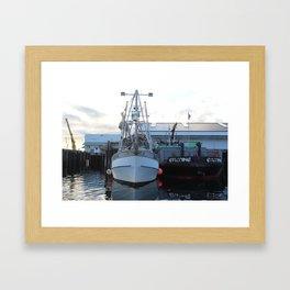 Alaska Tender Framed Art Print