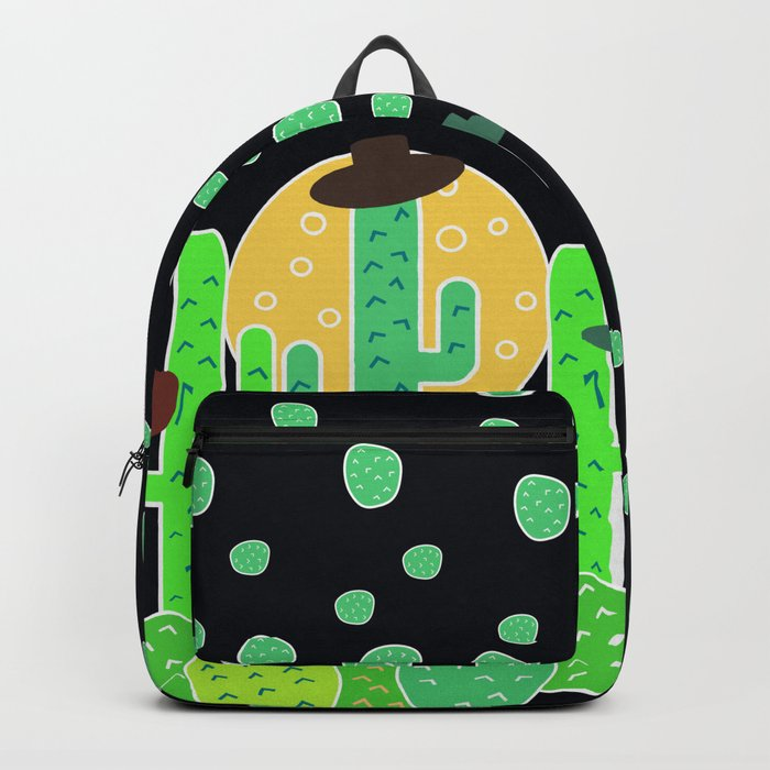 Cacti with hats Backpack