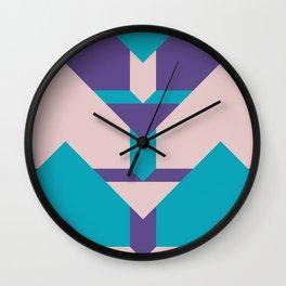 Glow Way #society6 #glow #pattern Wall Clock