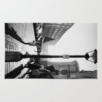 mozart Area & Throw Rugs featuring Salzburg NO4 by Julia Aufschnaiter