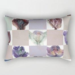 Vagina Portrait Quilt Rectangular Pillow