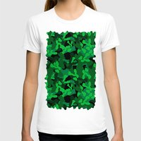camouflage T-shirts featuring Camouflage (Green) by 10813 Apparel