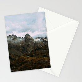 Alaskan Summer Nights in the Alpine Stationery Cards