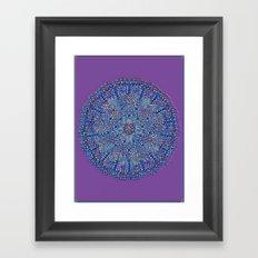 MandalaS6-4 Framed Art Print