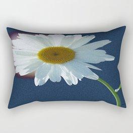 Back lit Daisy Rectangular Pillow