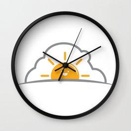Good Morning, Kool Kat Wall Clock
