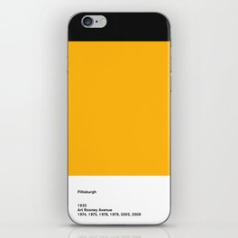 Pittsburgh iPhone Skin