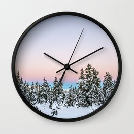 Alpen Glow Wall Clock