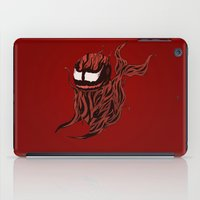 carnage iPad Cases featuring Carnage Whale  by CoolBreezDesigns