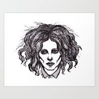 jack white Art Prints featuring JACK WHITE by Niamhkerins ❤