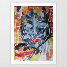 ORANGE JUICE :) Art Print