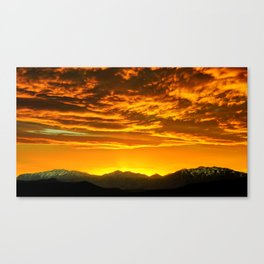 Vibrant Night Canvas Print