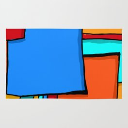 Cargo Ship Containers 11 Rug