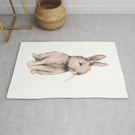 Ruby Rabbit Rug