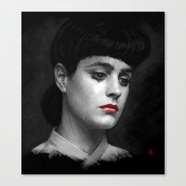 Rachel Blade Runner, I am the business Canvas Print